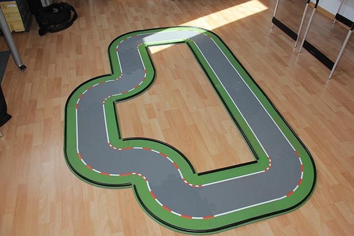 SIKU-racing kurze Strecke aus 8 Teilen