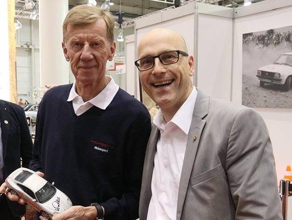 Hamburg Motor Classics mit Walter Röhrl und Aldo